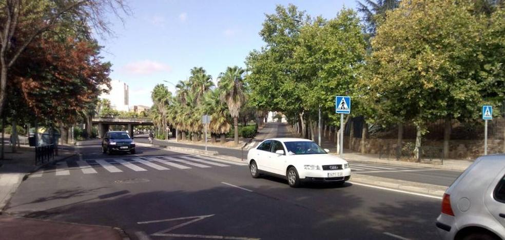 Segundo atropello en la avenida de la Hispanidad de Cáceres en menos de quince días