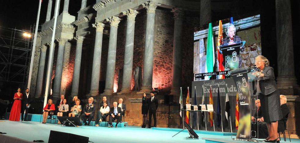 La celebración del Día de Extremadura incluirá tres actos en Mérida