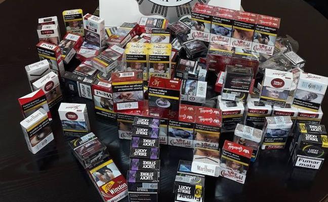 Intervenidas 100 cajetillas de tabaco en dos locales de Mérida no autorizados