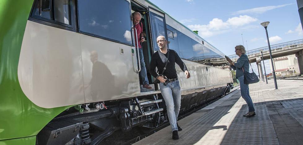Extremadura vuelve a conectar en tren con Portugal