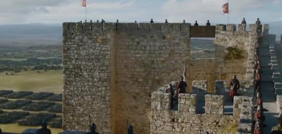 Así lució el castillo de Trujillo en el final de temporada de Juego de Tronos
