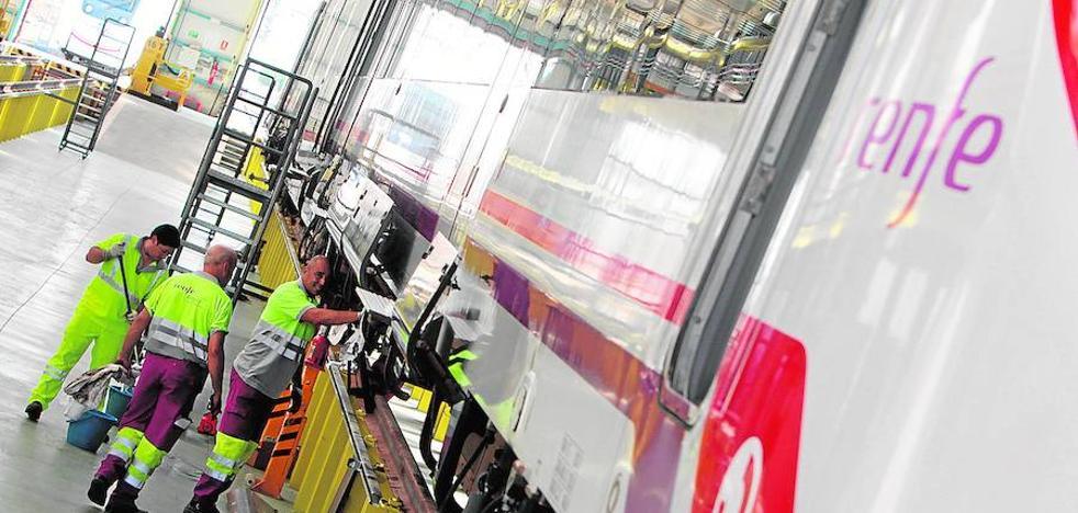 Renfe construirá un taller en la estación de Badajoz para arreglar sus trenes