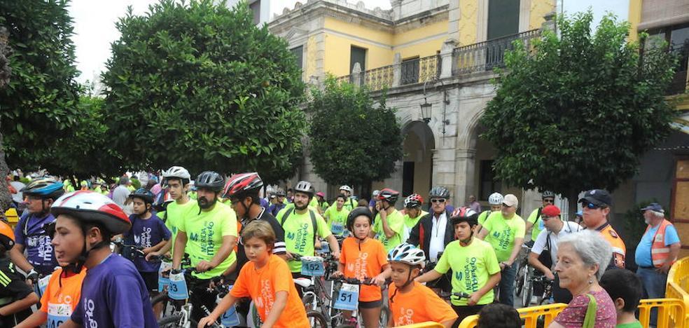 Entre 600 y 800 personas participarán este lunes en el Día de la Bicicleta en Mérida