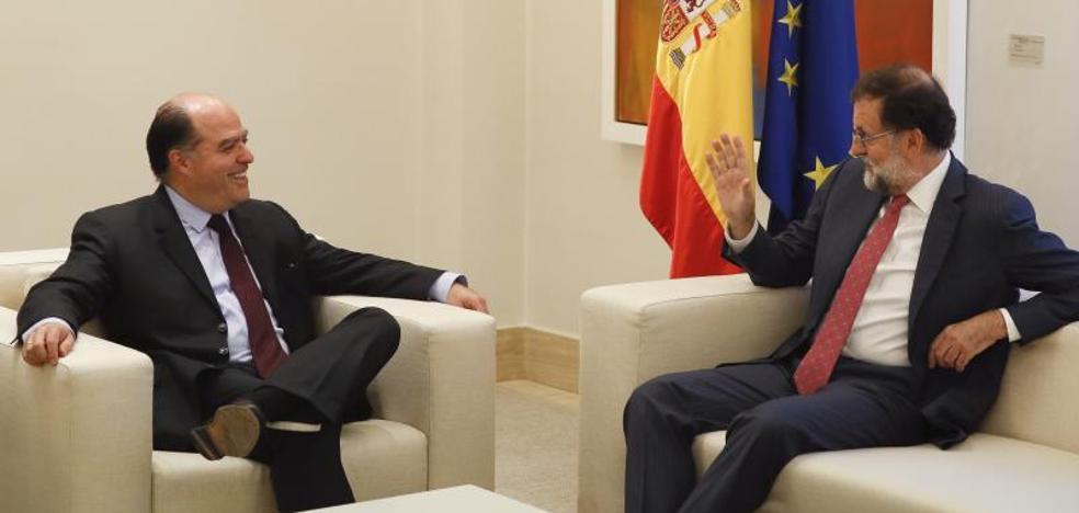 Tintori agradece a Rajoy que escuche a la Venezuela «que quiere democracia»