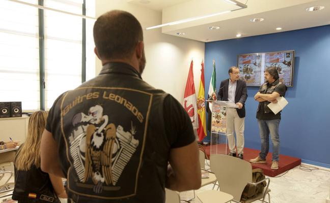 Los 'Buitres Leonaos' de Cáceres esperan reunir unas 700 motos y 3.500 personas