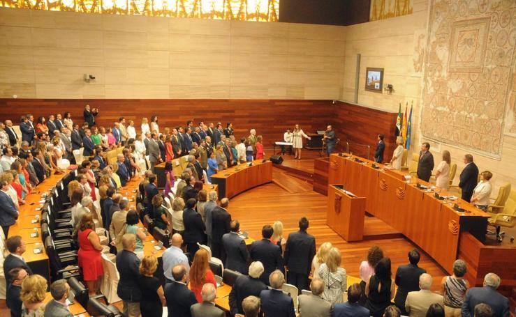 Actos en la Asamblea por el Día de Extremadura