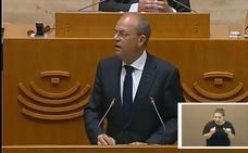 Monago sitúa el paro como el «principal problema» de Extremadura y apela a la «unidad sin fisuras» de España