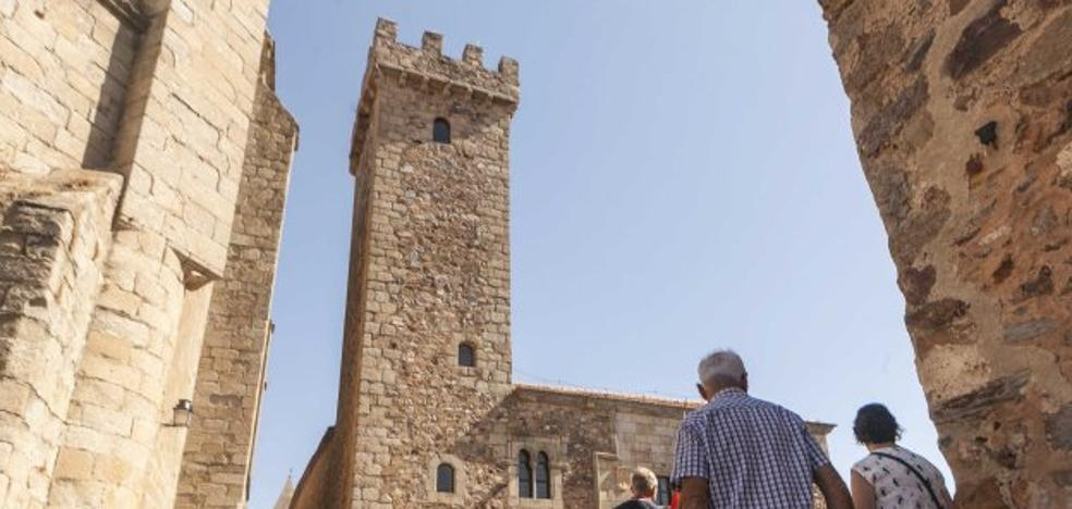 Una nueva torre, la del Palacio de las Cigüeñas, se incorpora al circuito de visitas turísticas