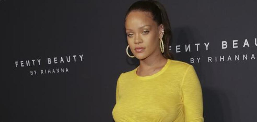 Así son los trucos de maquillaje de Rihanna