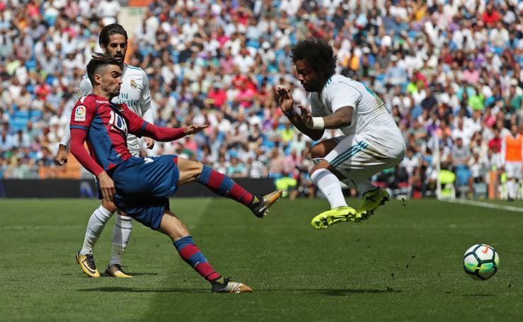 Real Madrid - Levante, en imágenes