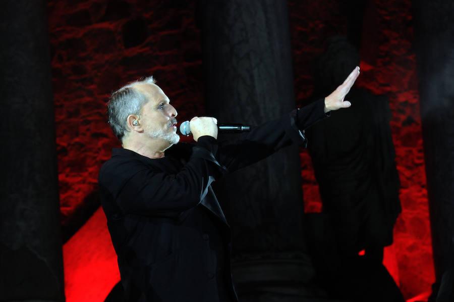 Concierto de Miguel Bosé en el Teatro Romano