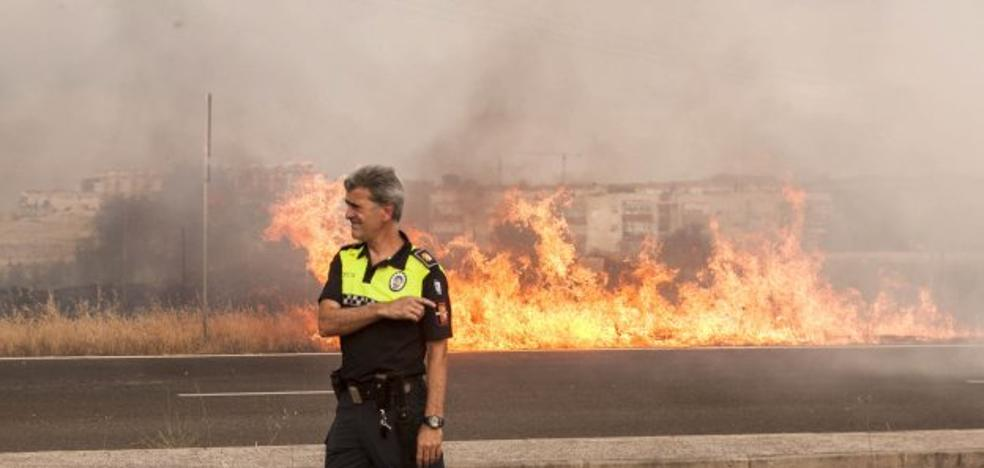 Extremadura afronta una semana con varios días de riesgo extremo