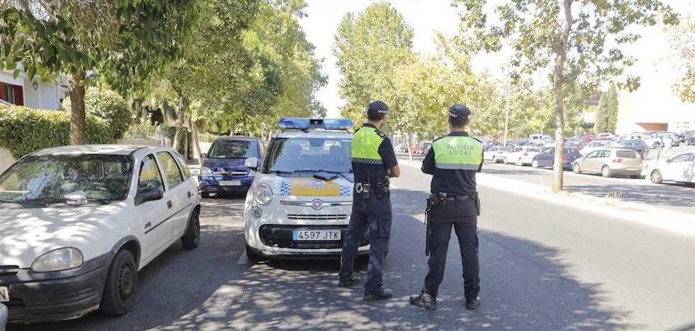 La Policía Local intensifica la vigilancia en la avenida de la Hispanidad