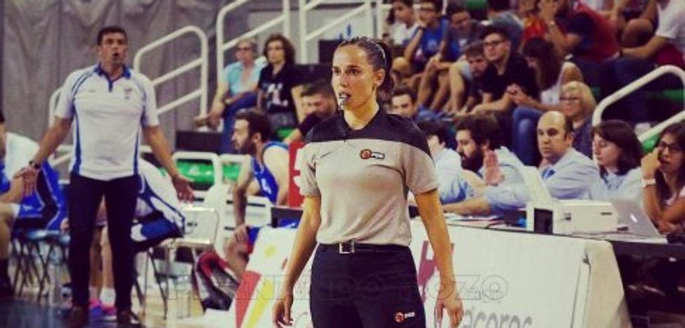 La cacereña Esperanza Mendoza arbitrará partidos en la ACB