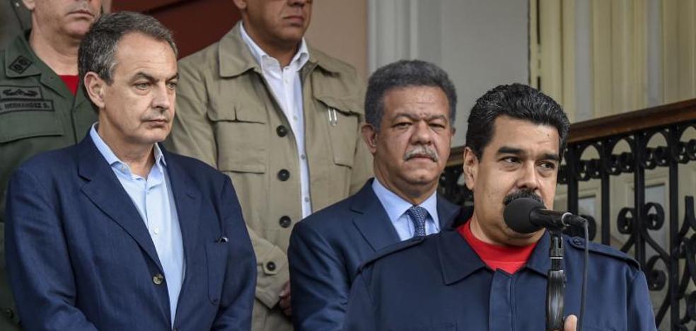 Maduro acepta el diálogo con la oposición planteado por Zapatero