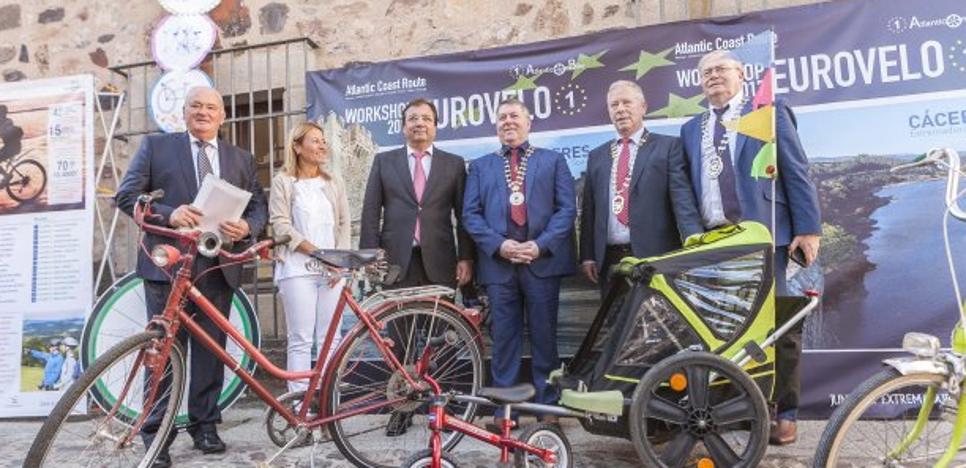 Arranca en Extremadura un proyecto europeo para fomentar el uso de la bici