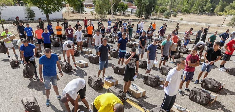 Nuevo récord de alumnos de tropa en Cáceres, en enero vendrán 980 jóvenes