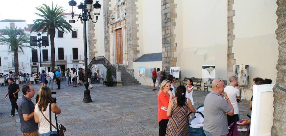 El domingo se celebra en Jerez de los Caballeros el XIII Concurso de Pintura 'Francisco Benavides'