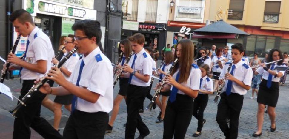 Las asociaciones, excluidas del concurso de la Escuela de Música de Navalmoral