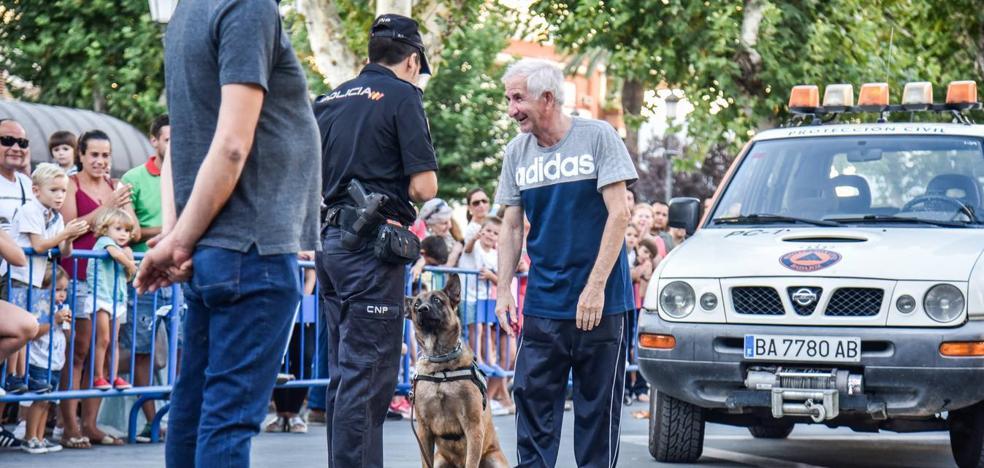 Exhibición de medios policiales en San Francisco