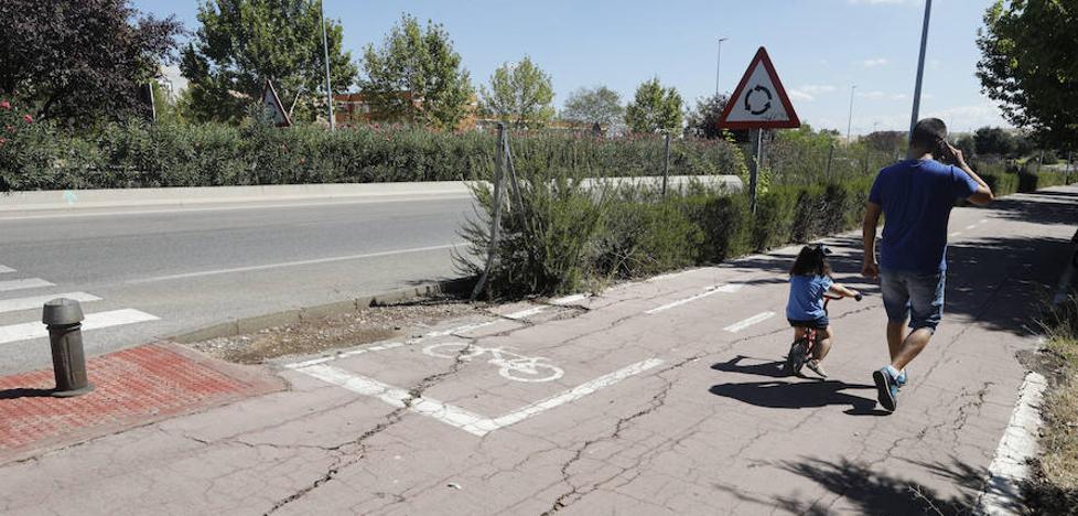 Vecinos y usuarios piden más mantenimiento para la Ronda Norte