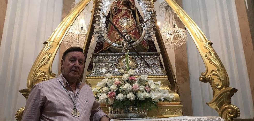 Valentín Guerrero: «La Virgen de la Estrella es mi mejor clienta»