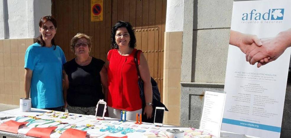 Afad conmemora el Día Mundial del Alzheimer en Don Benito