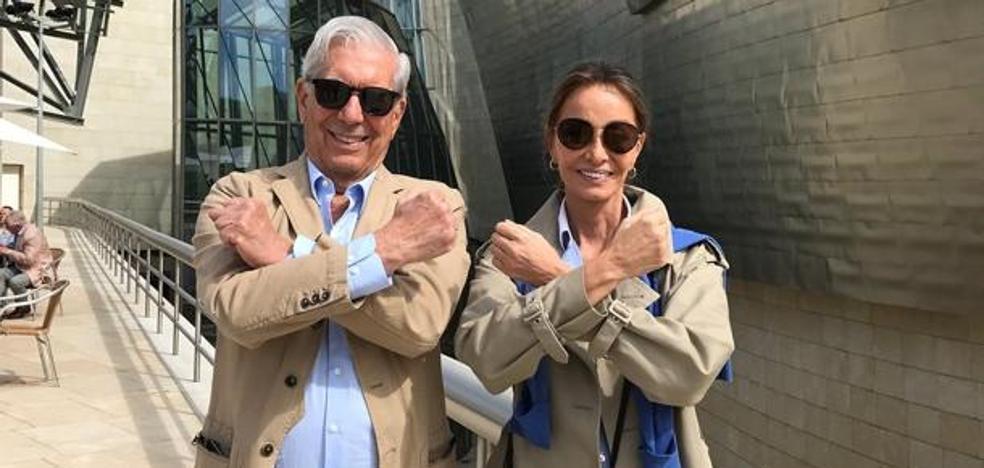La mañana cultural de Vargas Llosa e Isabel Preysler en Bilbao