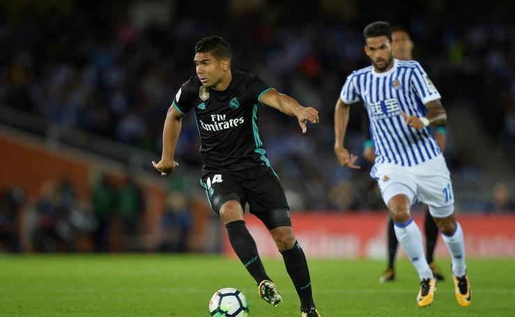 Real Sociedad-Real Madrid, en imágenes