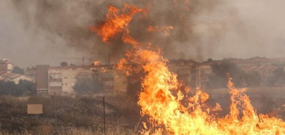 Extremadura entra en el otoño con riesgo extremo de incendios