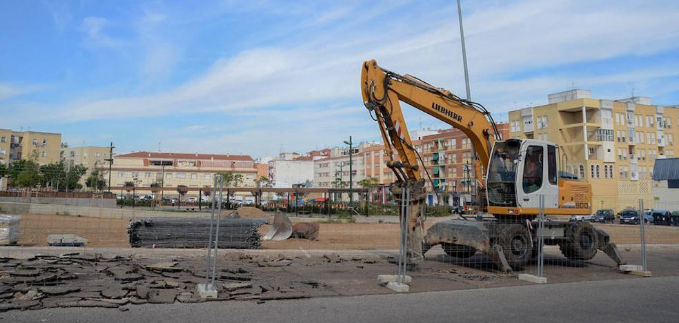 Comienzan las obras de las nuevas pistas polideportivas de San Roque
