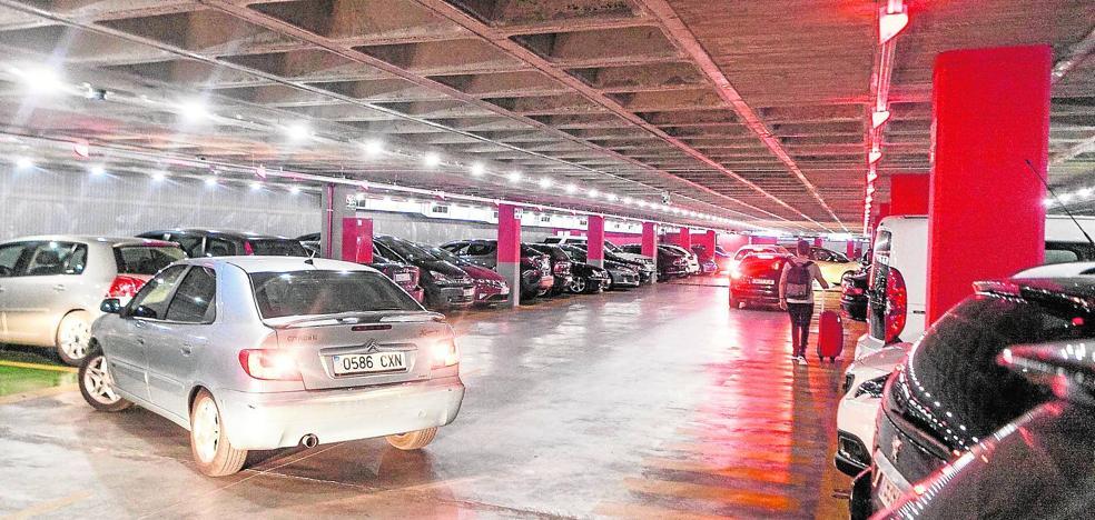 El parking de Primo de Rivera cumple un año con un 60% de ocupación en días laborables