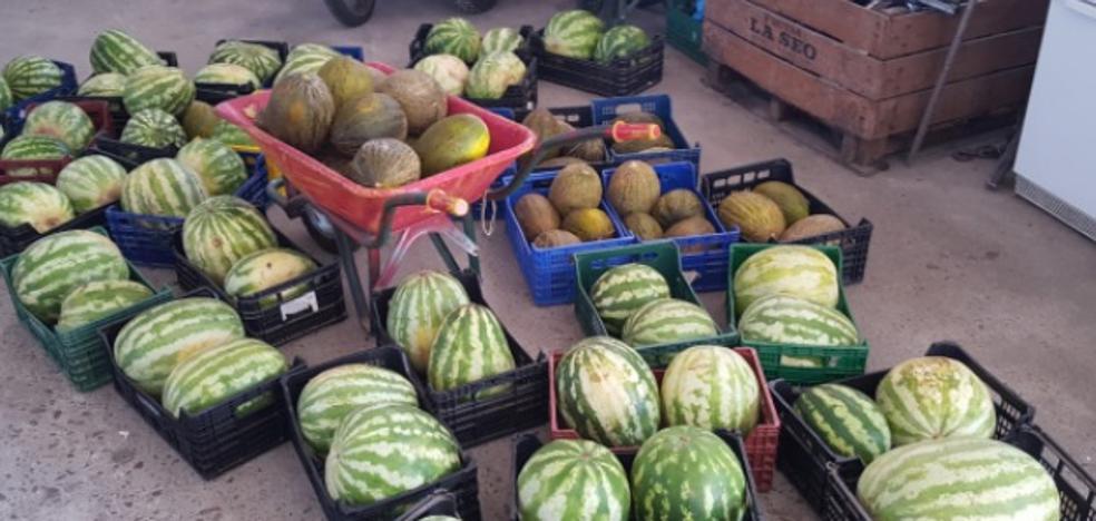 La Policía interviene 4.000 kilos de fruta ilegal en dos semanas