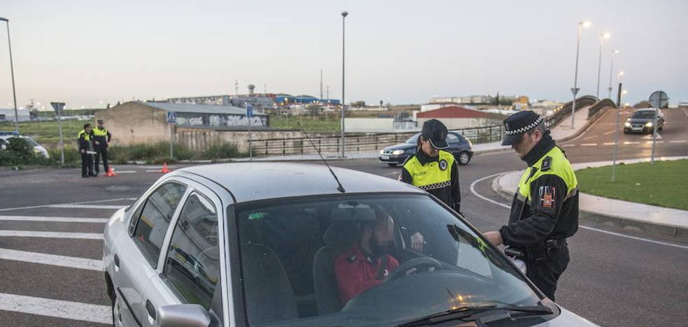 19 conductores sancionados en Badajoz por no llevar el cinturón de seguridad