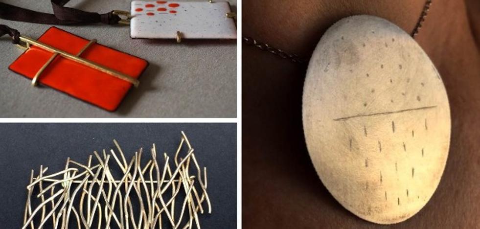Alhajares muestra en Cáceres su joyería artística