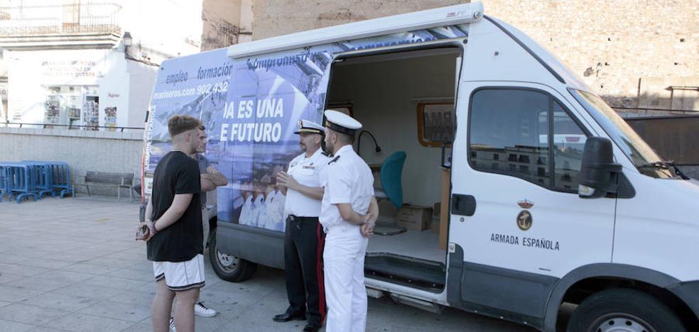 Campaña de reclutamiento en Cáceres