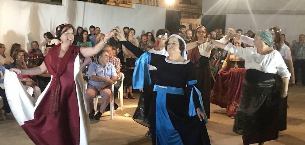 Los Santos revivió durante unas horas su pasado medieval