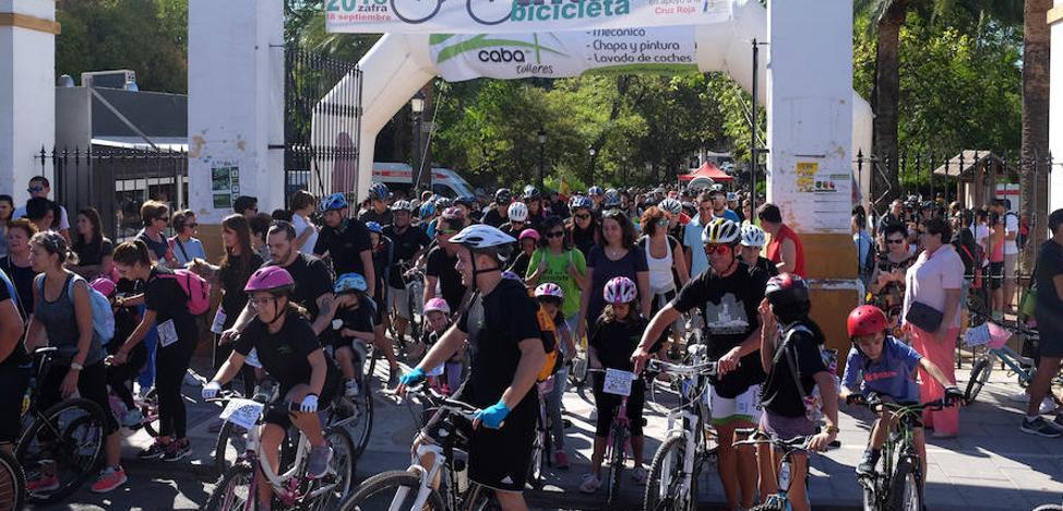 El deporte congrega en Zafra en el fin de semana a más de 2.000 personas