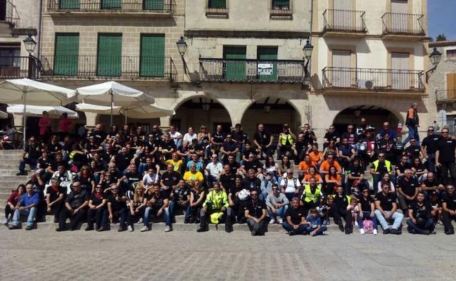 Moteros de la región de unirán en la ruta 'Ciudad de Trujillo' los días 23 y 24 de septiembre