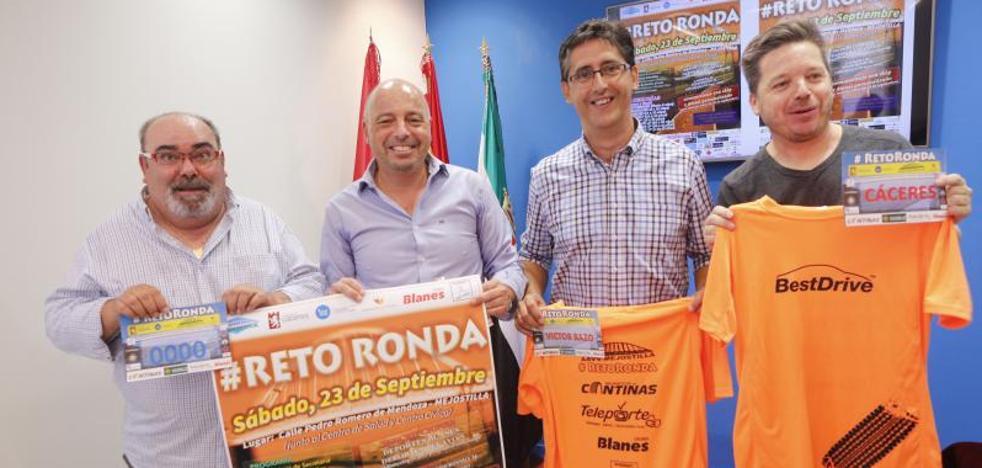 La Ronda Norte de Cáceres, «arteria de cohesión» entre nueve barrios en un encuentro deportivo