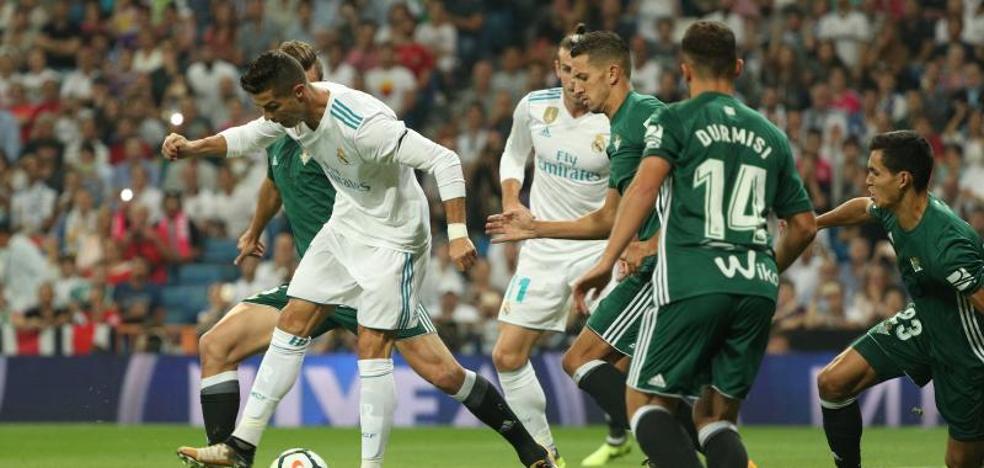 El Betis asalta el Bernabéu y rompe la racha del campeón