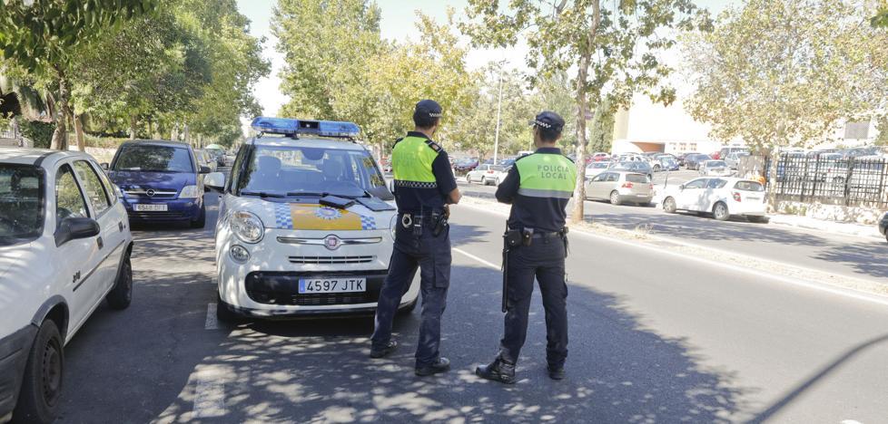 42 sanciones en un nuevo control de velocidad en la avenida de la Hispanidad de Cáceres