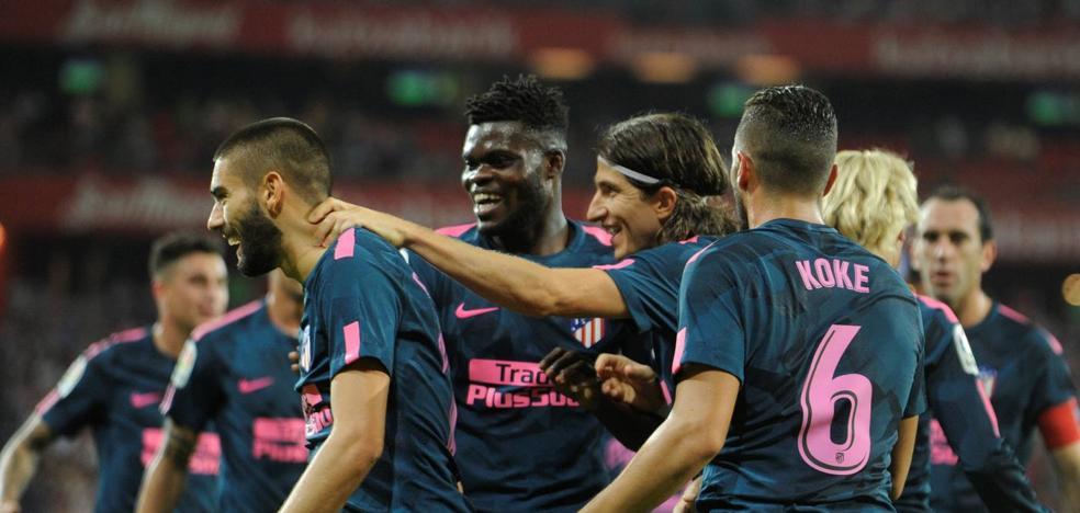El Atlético, el peor invitado de la Liga