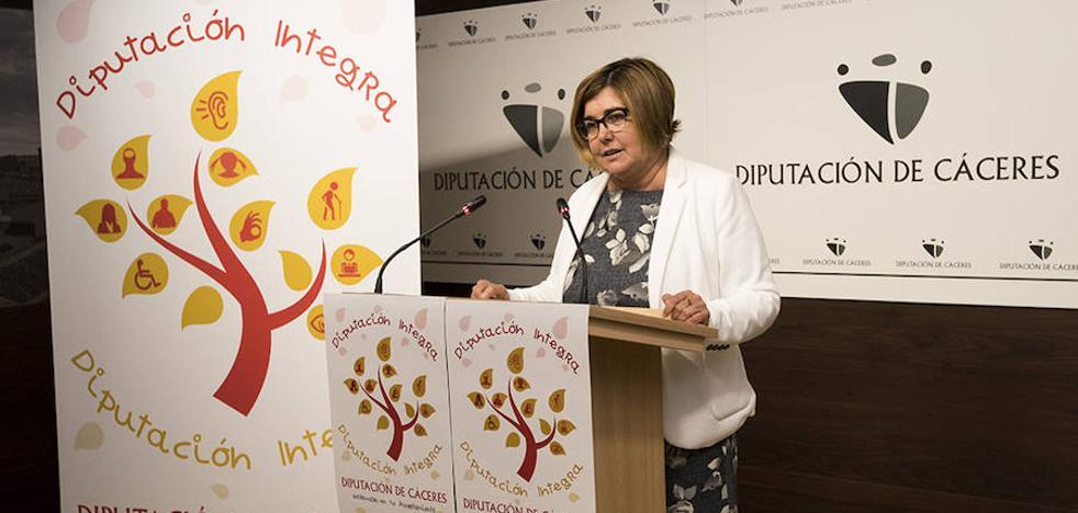 La Diputación de Cáceres dedica 1,5 millones a la creación de 125 puestos adaptados
