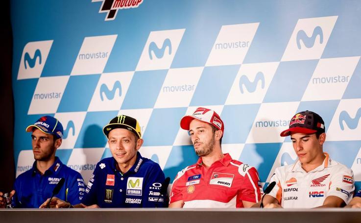 La primera jornada del GP de Aragón, en imágenes