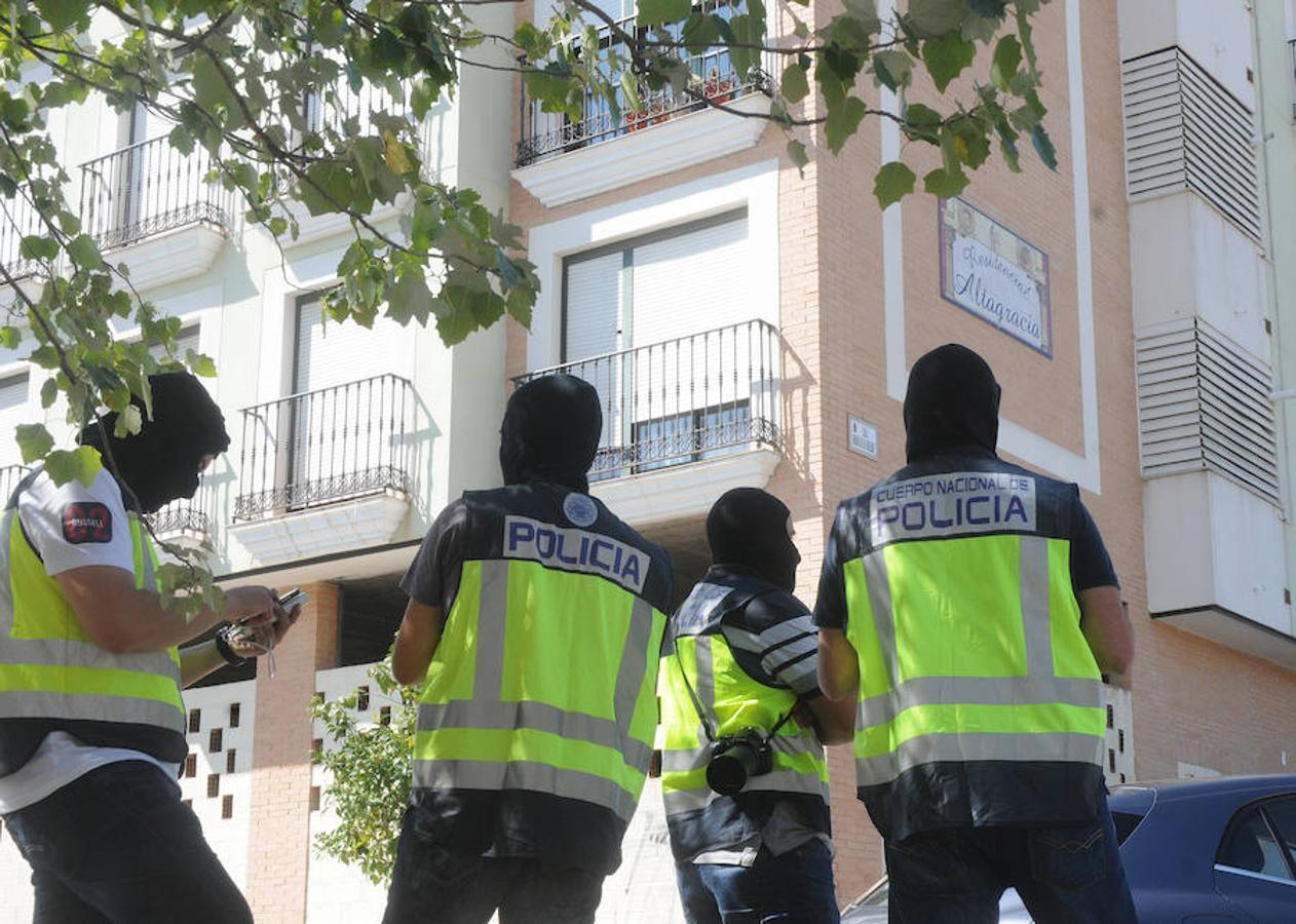 La Policía detiene en Mérida a un «hombre fuerte» del Estado Islámico
