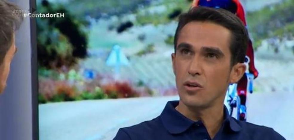 Contador, sobre su derrame cerebral: «Pudieron extirparme el problema y no sufrí las consecuencias»