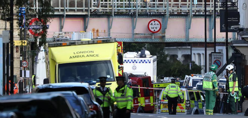 La Policía atribuye a un joven de 18 años la autoría del atentado en el metro de Londres