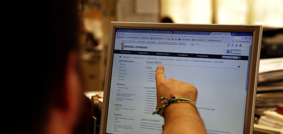 Los cursos online gratuitos de la UEx superan los 11.000 alumnos inscritos