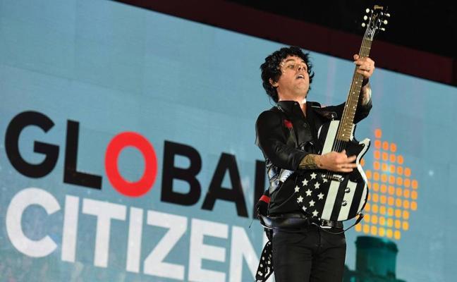 Música y mensajes de concienciación hacen vibrar al festival Global Citizen